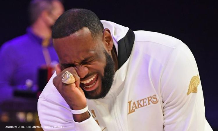 NBA Los Angeles Lakers Receive Championship Rings U2013 And