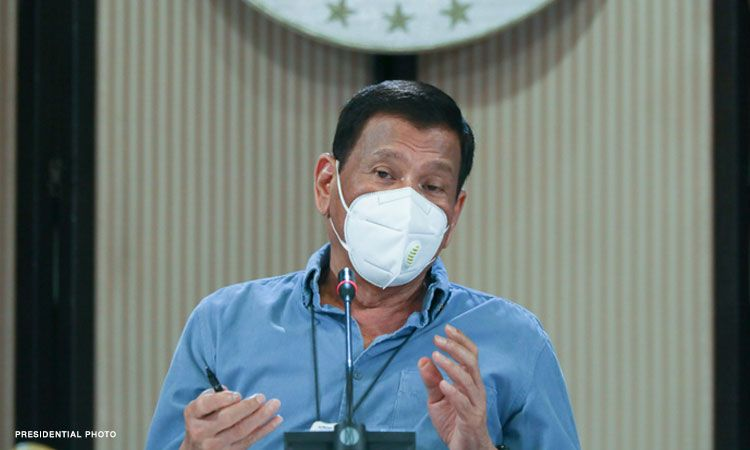 Duterte extends state of calamity due to COVID-19 for another year