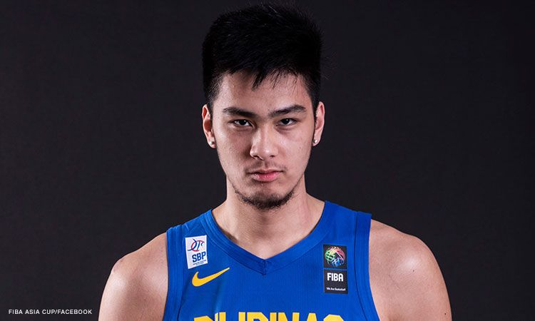 Kai Sotto part of Gilas 12 in 2021 FIBA Asia Cup qualifiers