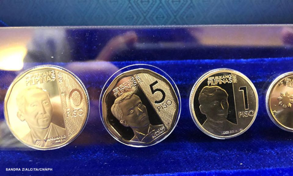 Look Here Are The New ₱5 ₱20 Coins